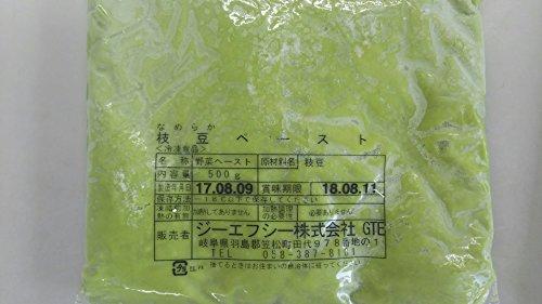 冷凍 なめらか枝豆ペースト 500g