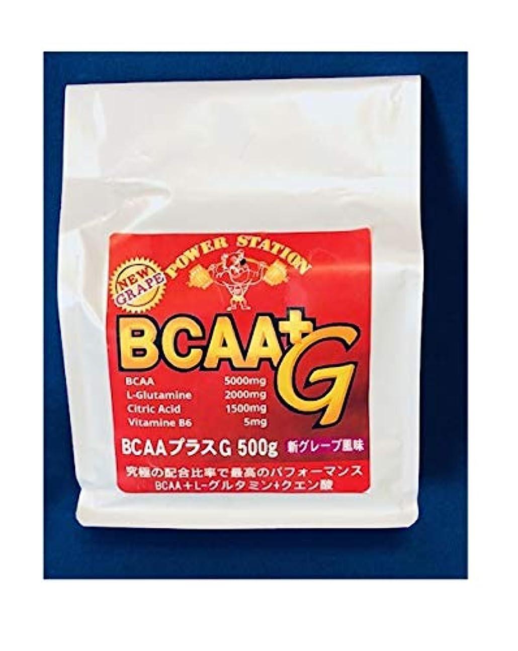 パワースティションBCAAグルタミンクエン酸パウダー500g