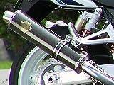 アールズギア(r's gear) フルエキゾーストマフラー ソニック シングル カーボン ZZR1100 SK03-01CF