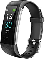 Fitness Tracker HR, Activity Tracker Watch with Heart Rate Blood Pressure Monitor, Waterproof Smart Fitness Band Sport...