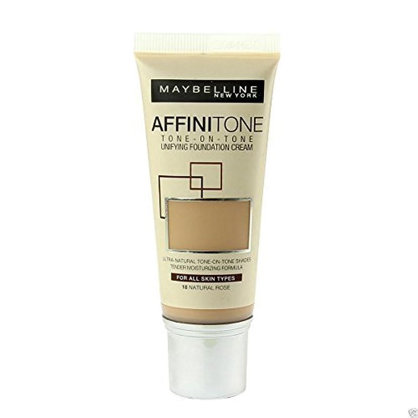 冷蔵庫聖域不要Maybelline Affinitone Perfecting & Protecting Foundation 18 Natural Rose by Maybelline