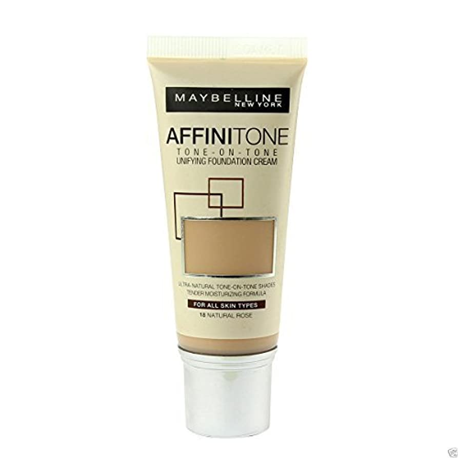 偽物次へロードブロッキングMaybelline Affinitone Perfecting & Protecting Foundation 18 Natural Rose by Maybelline