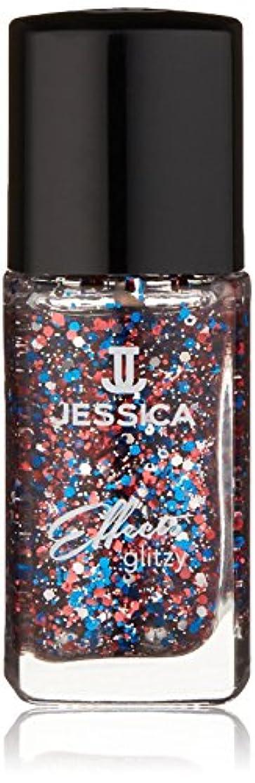 バズすぐに花弁Jessica Effects Nail Lacquer - Star Spangles - 15ml / 0.5oz
