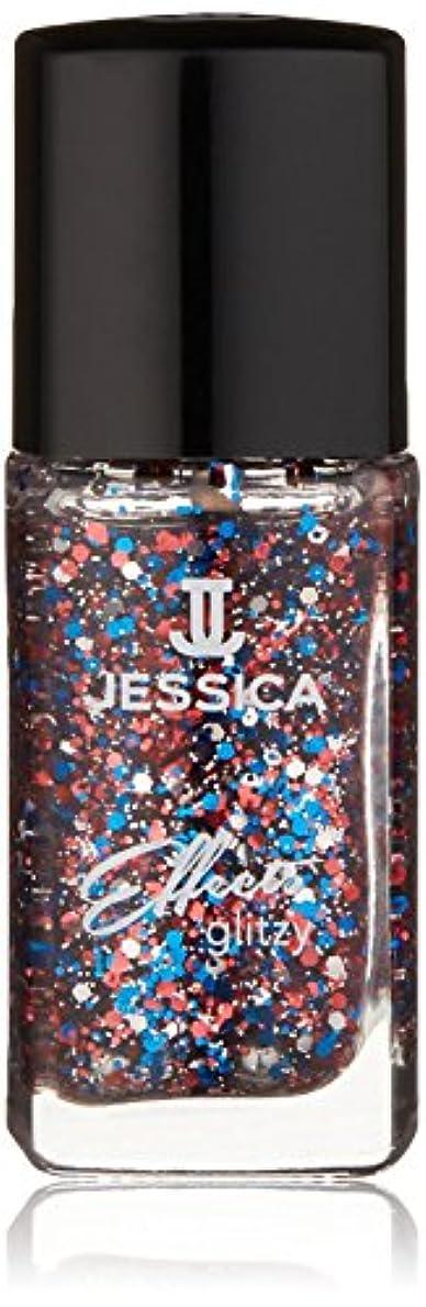 大脳スロベニア慣れているJessica Effects Nail Lacquer - Star Spangles - 15ml / 0.5oz