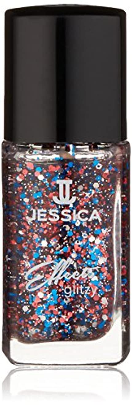 印象的忘れっぽい溶融Jessica Effects Nail Lacquer - Star Spangles - 15ml / 0.5oz
