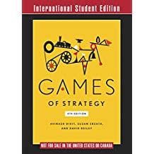Games of Strategy 4E International Student Edition