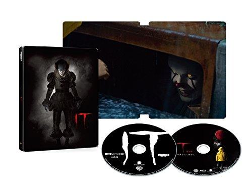 "IT/イット ""それ""が見えたら、終わり。 スチールブック仕様  4K ULTRA HD&2D ブルーレイセット(数量限定生産/2枚組) [Blu-ray]"