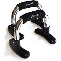 plantobiz プッシュアップバー 金属 腕立て伏せ ベンチプレス 筋トレ 腕 大胸筋 肉体改造