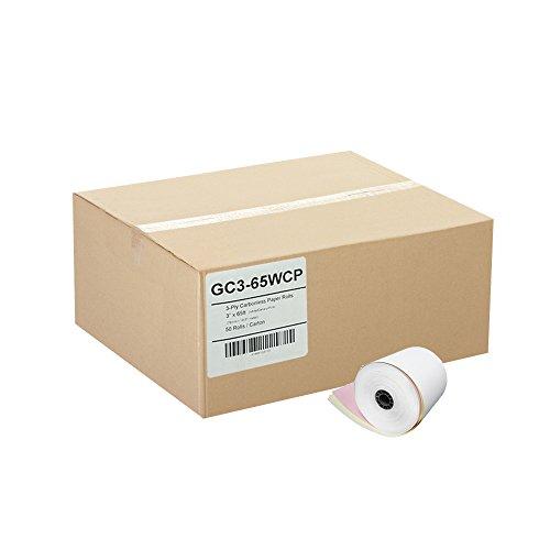 ゴリラSupplyカーボンレスロール紙50/ CS 3 x 65ft W/C/P