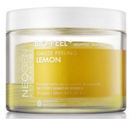 NEOGEN DERMALOGY BIO - Peel Gauze Peeling Lemon 30 Count, 200ml by Neogen