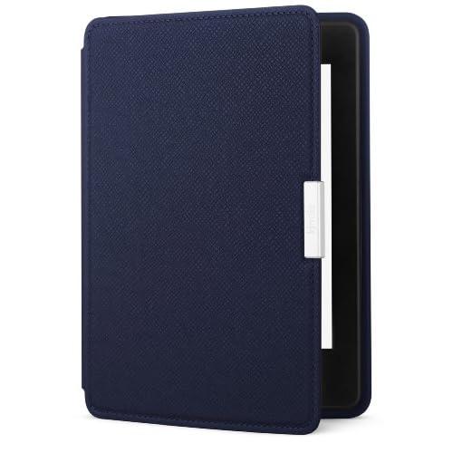 Amazon Kindle Paperwhite用レザーカバー、ミッドナイトブルー (Kindle Paperwhite専用)