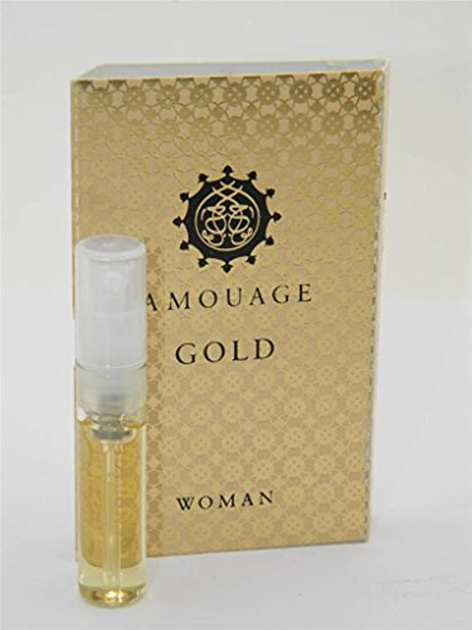チャールズキージング太陽ジャニスAmouage Gold Woman EDP Vial Sample 2ml (アムアージュ ゴールド ウーマン オードパルファン 2ml )[海外直送品]
