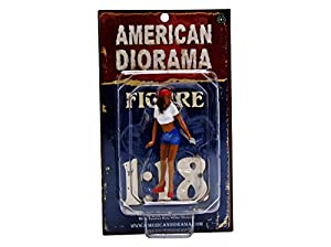 1/18 American Diorama Lady Mechanic - Katie 女性 メカニック フィギュア 模型