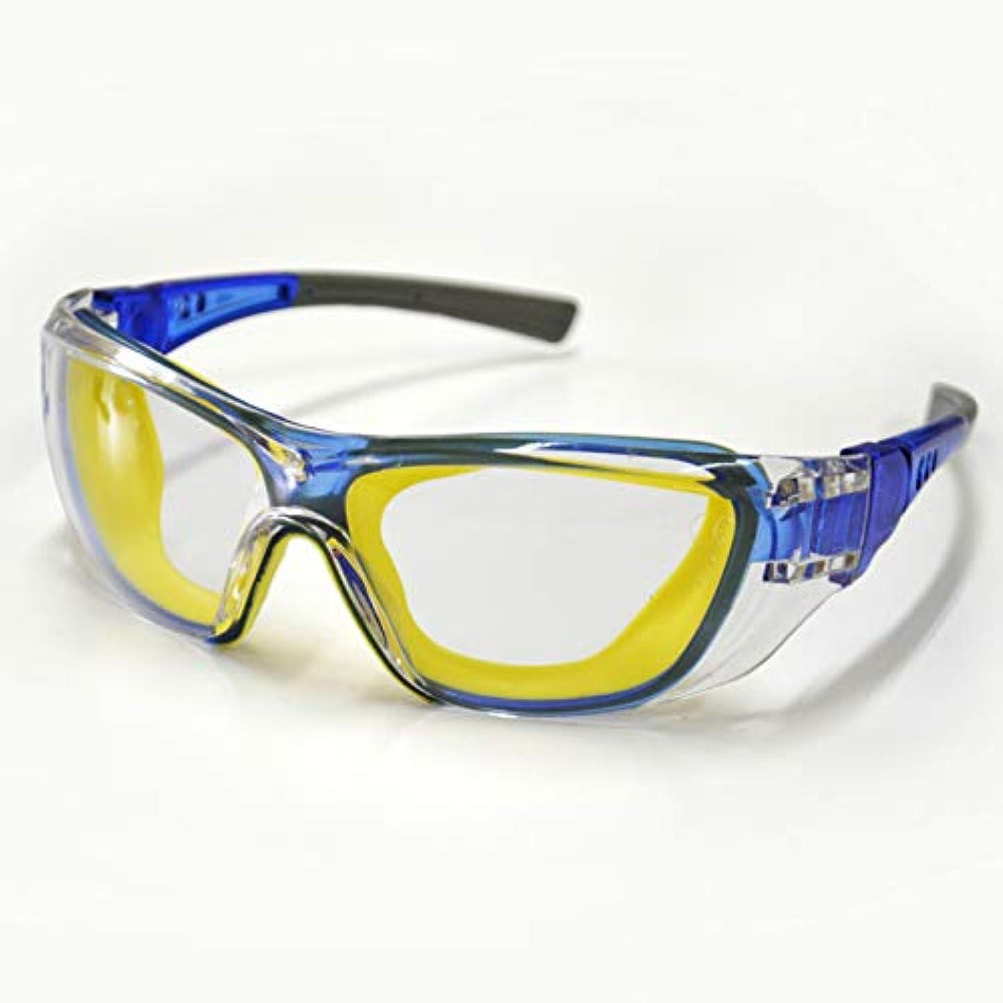 スラム関数処理PLOW チェンソー刈払機用防護メガネ【SGB01】