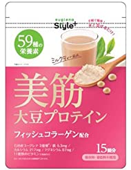 ユーグレナ 美筋 大豆プロテイン 180g