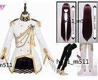 Fate/Grand Order 特典 魔境のサージェント スカサハ コスプレ 衣装 +靴下+手袋 全セット +ウィッグ+靴