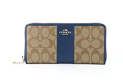[コーチ] COACH 財布(長財布) F52859 / BLUE レディース財布 [アウトレット品] [並行輸入品]