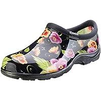 Sloggers 5114BP11 Black Pansy Waterproof Comfort Shoe, 11,