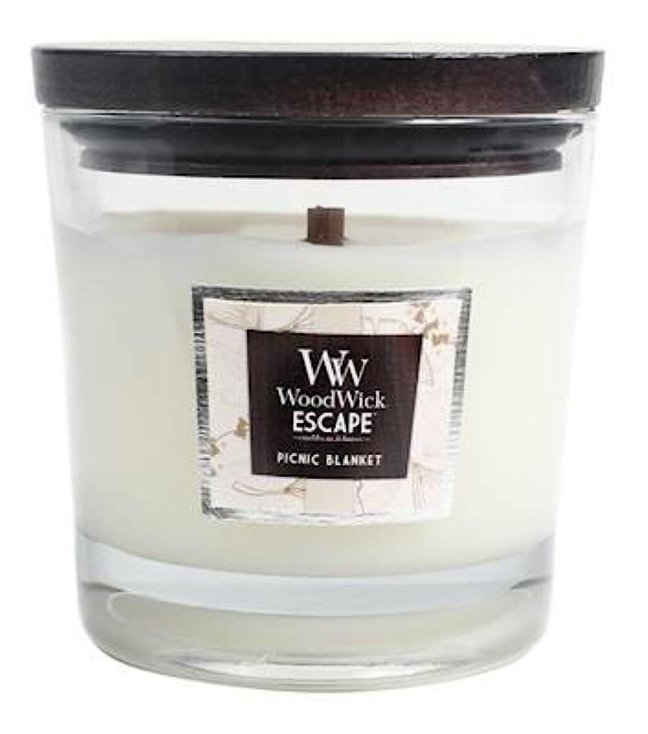 先住民画家ドライピクニックブランケットWoodWickエスケープLarge 2-wick Jar Candle