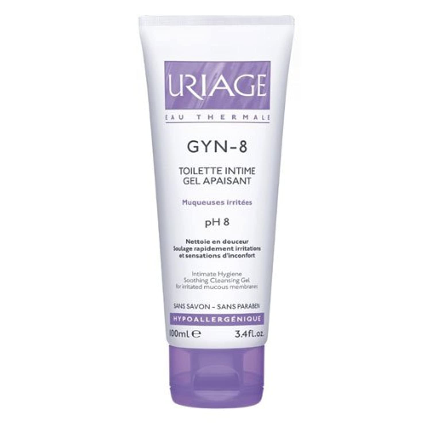 切り離す程度同様のUriage Gyn 8 Intimate Hygiene Soothing Cleansing Gel 100ml [並行輸入品]