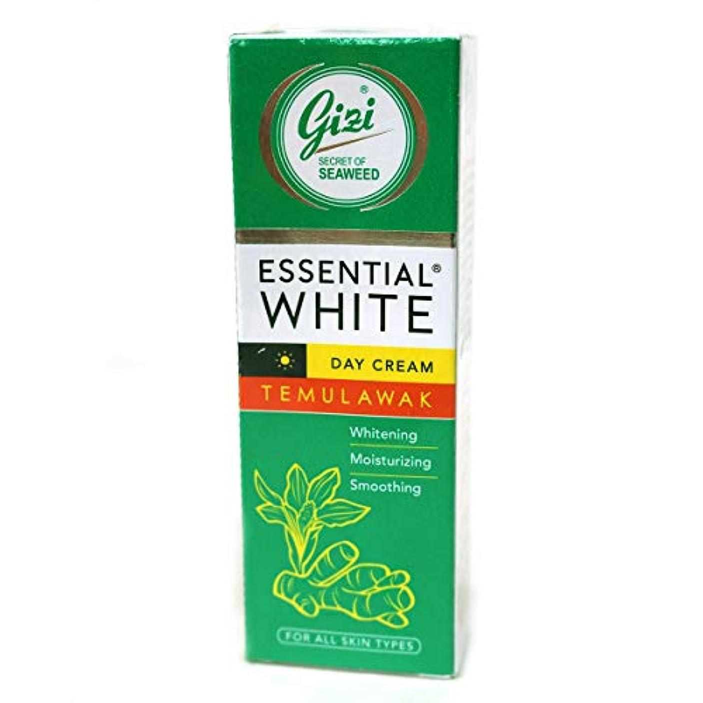 のぞき穴誤通信するギジ gizi Essential White 日中用スキンケアクリーム チューブタイプ 18g テムラワク ウコン など天然成分配合 [海外直送品]