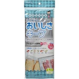 フリーザーバッグおいしさキープL フック式 6枚 | キチントさん | 保存用バッグ・ポリ袋 通販