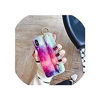 大理石ゴールドホイルリストストラップ電話ケースfor iPhone XR 11 Pro Max Phoneホルダーケースfor iPhone X Xs max 6 6s 7 8 Plus,for iPhone 6plus,IK22-DJJBQingH