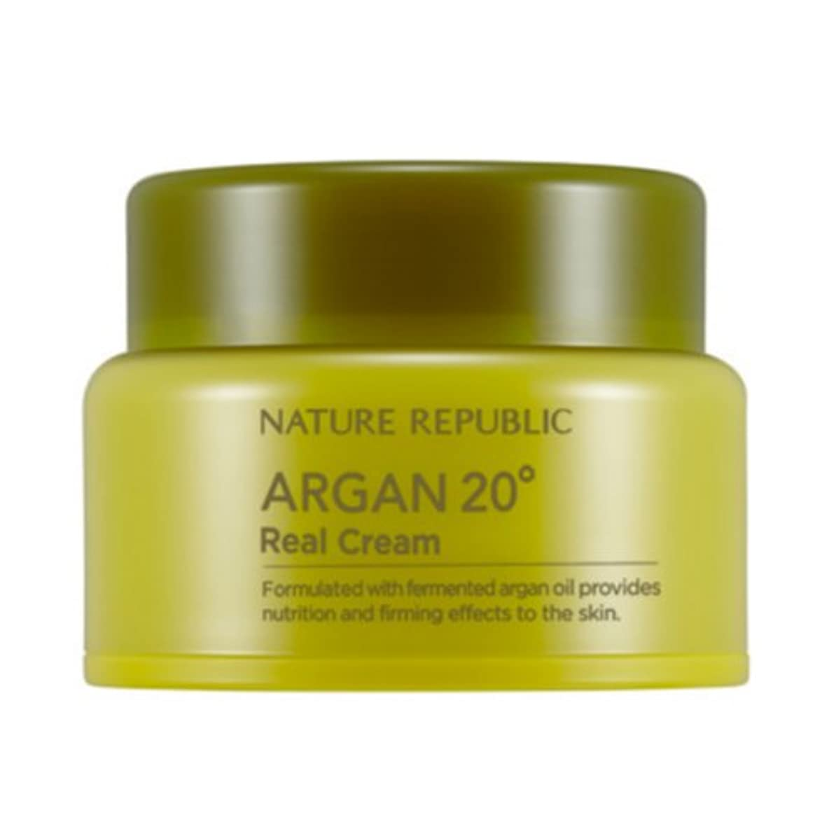 代表して満了ファイター[ネイチャーリパブリック] Nature republicアルガン20ºリアルクリーム海外直送品(Argan20ºReal Cream) [並行輸入品]