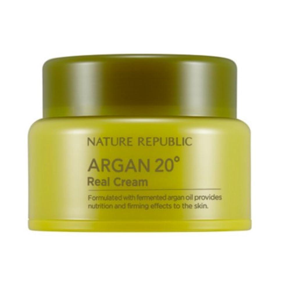 コンセンサス解釈的コードレス[ネイチャーリパブリック] Nature republicアルガン20ºリアルクリーム海外直送品(Argan20ºReal Cream) [並行輸入品]