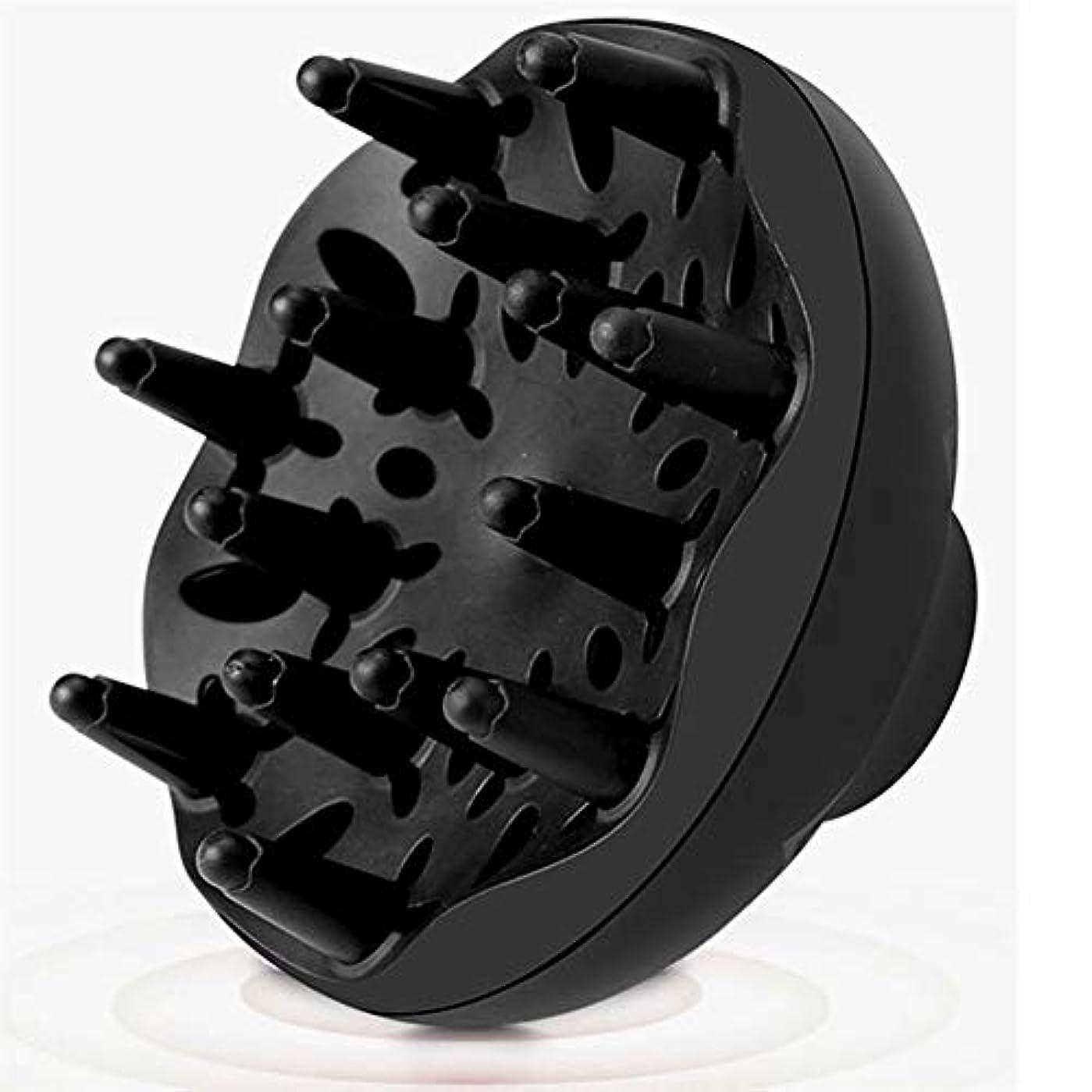 砲撃記念品落胆させる2019ブラックカーリングヘアドライヤーラジエーターファッションナチュラルヘアスタイルブロワーディフューザーカール huang