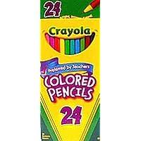 Crayola Pencils Color, 24-count (3-Pack) (並行輸入品)
