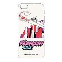 パワーパフガールズ iPhone5s ケース クリア ハード プリント デザインF-A (ppg-026) スリム 薄型 WN-LC410730