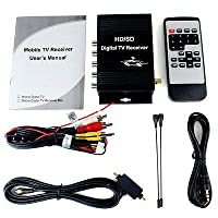 FidgetGear Car Mobile Display ATSC Digital terrestrial Receiver with 4 Video HD/SD TV Tuner