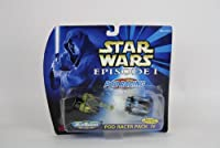 Star Wars Micro Machines Episode I Pod Racer Pack IV - High-Speed Rolling Wheels!