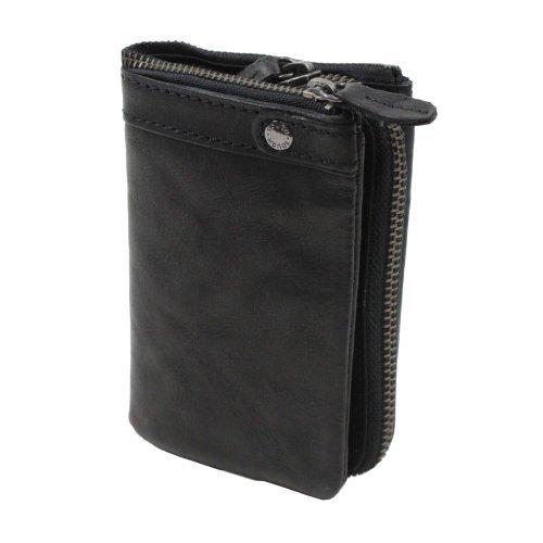 TOUGH (タフ) 二つ折り財布 55561 ブラック 【財布/さいふ/サイフ】【レザーウォッシュ Leather Wash】