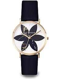 [アリーデノヴォ] ALLY DENOVO 腕時計 Lily Marble リリー マーブル 36mm Gold Black/Black レディース ウォッチ AF5019.7