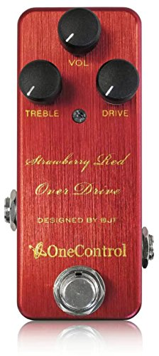 One Control ワンコントロール エフェクター オーバードライブ Strawberry Red Over Drive