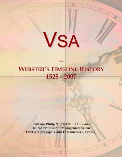 Vsa: Webster's Timeline History, 1525 - 2007