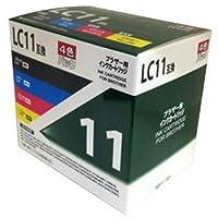 汎用インクカートリッジ LC11タイプ B11-4P