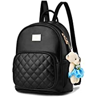BAG WIZARD Leather Backpack Purse Satchel School Bags Casual Travel Daypacks Womens
