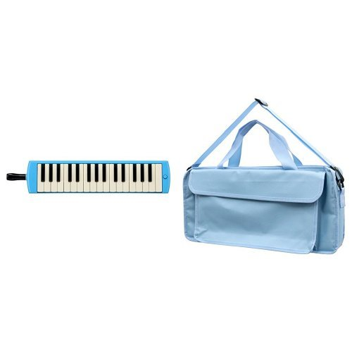 YAMAHA ヤマハ PIANICA ピアニカ 32鍵 ブルー P-32E + 鍵盤ハーモニカバッグ[Sky Blue] 付属セット