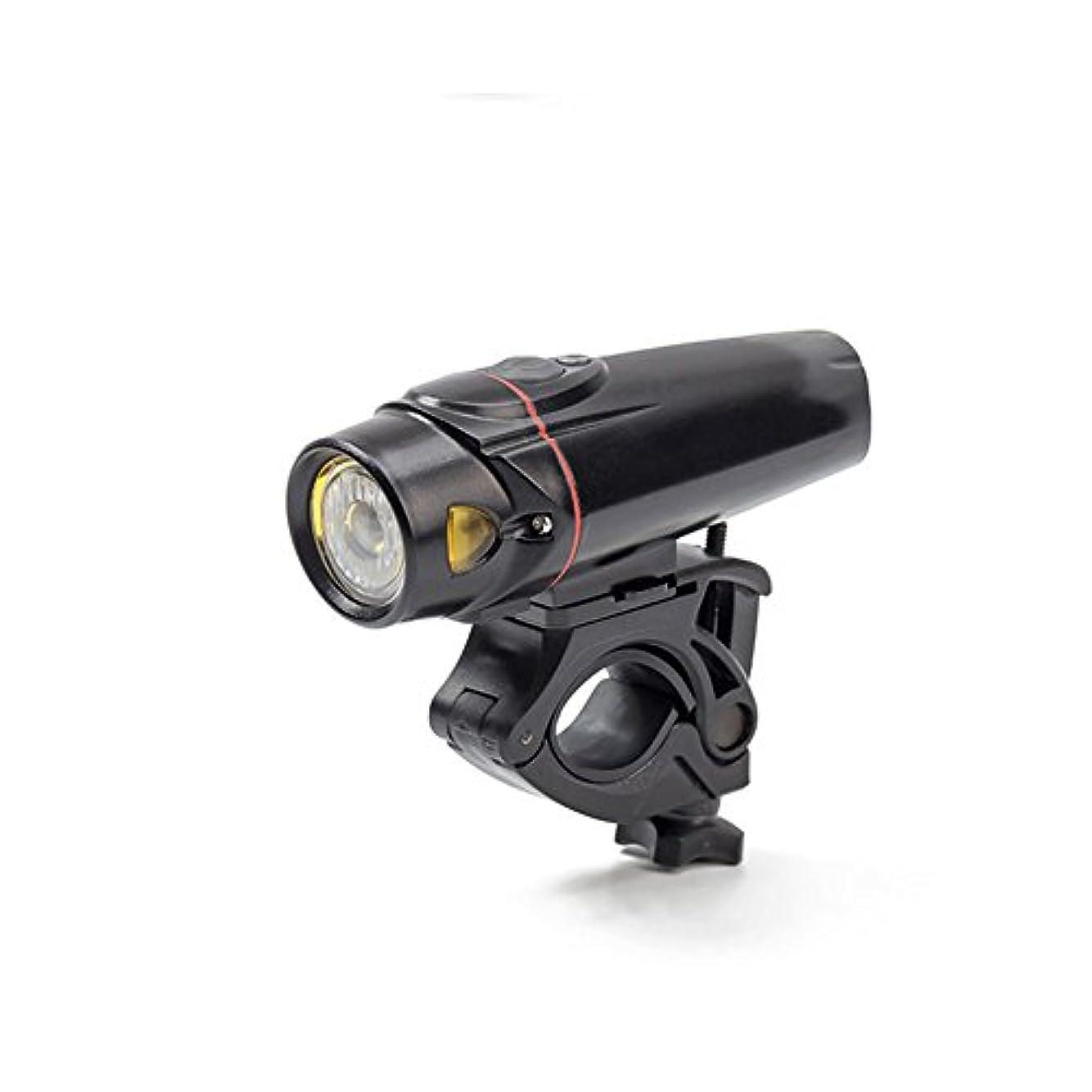 翻訳者チューブ二度RaiFu 自転車ヘッドライト USB充電式 取り外し可能 防水 多機能 キャンプ用 ランプ 緊急時の警告灯 懐中電灯