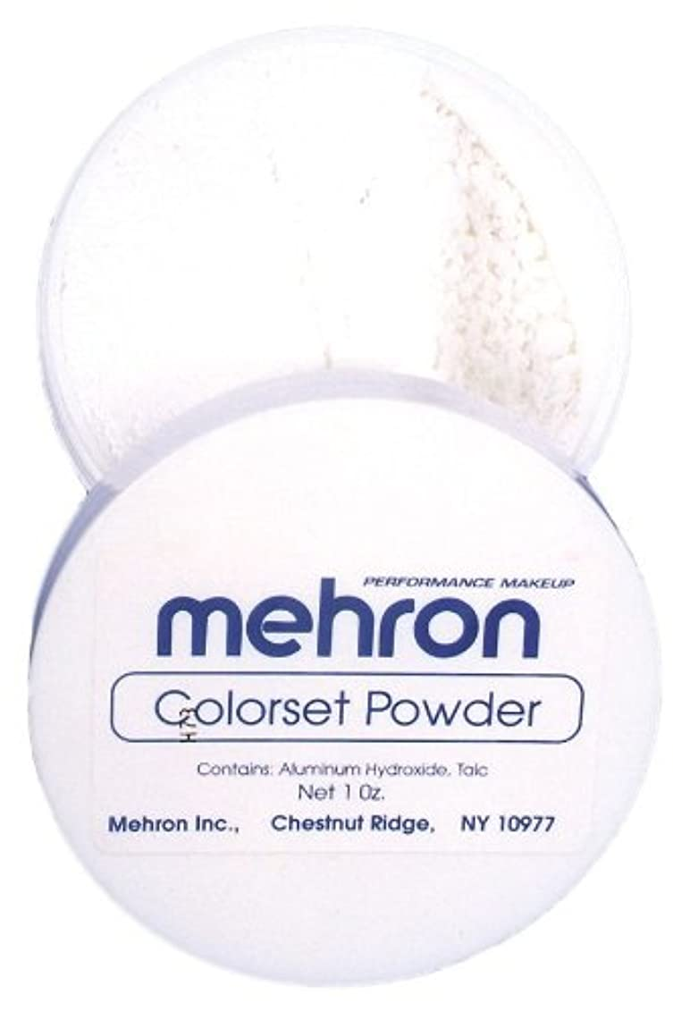 帳面クローン用量mehron Colorset Powder - Translucent (並行輸入品)