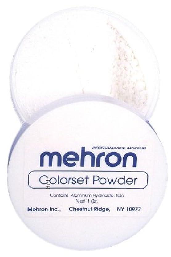 ハードウェアコテージスラックmehron Colorset Powder - Translucent (並行輸入品)