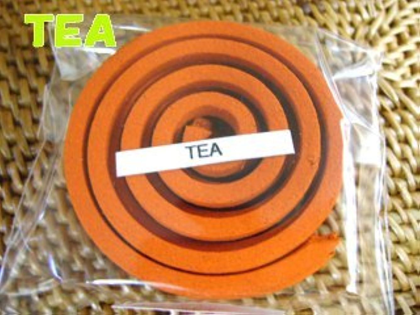 いつかタンザニアびっくりしたTHAI INCENSE タイのうずまき香COILS INCENSE【TEA ティー】