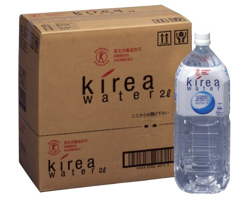 『五洲薬品 キレアウォーター 2L×6本』のトップ画像