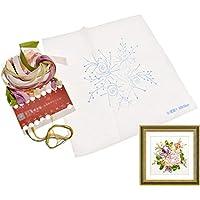 Hongma 3D リボン 花 刺繍キット ホビー 手芸材料