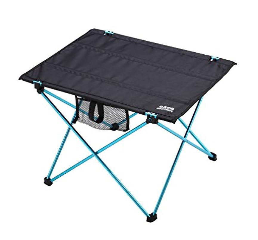 ポスト印象派スポーツの試合を担当している人導体AKUA(アクア) アウトドアテーブル フォールディング アルミフレーム ウルトラライト 折畳みテーブル コンパクト収納