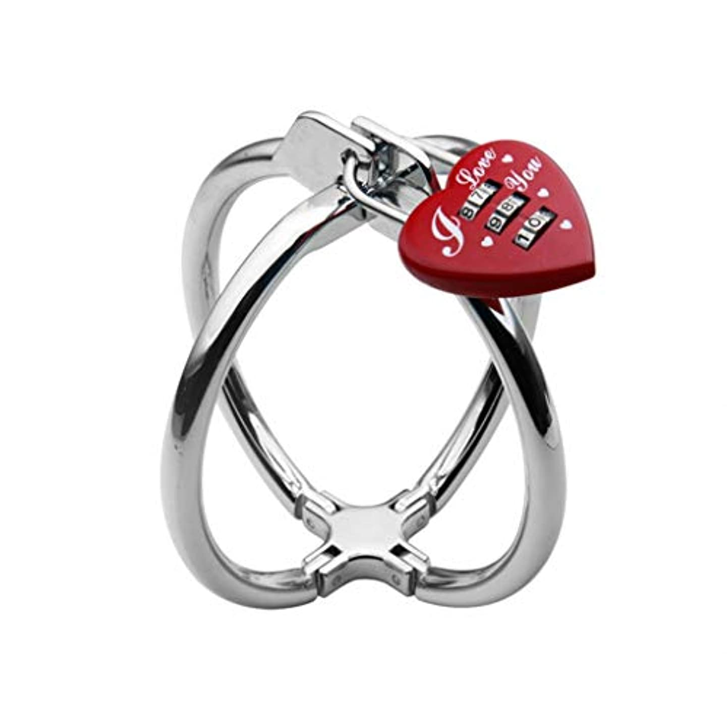 興味なに配偶者CXQ レディースウェアメタルクロス手錠、ヘルスケア製品の魅力 Yoga mat (Size : B)