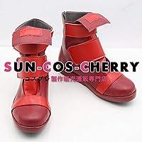 【サイズ選択可】コスプレ靴 ブーツ J-0396 僕のヒーローアカデミア 切島鋭児郎 烈怒頼雄斗 男性27CM